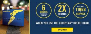 Goodyear Credit Card Promotion