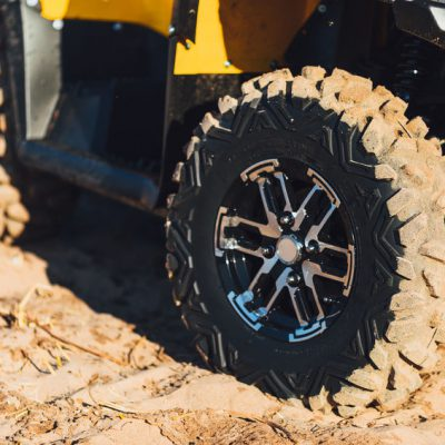 Rice Tire UTV/ATV Tires on Four Wheeler
