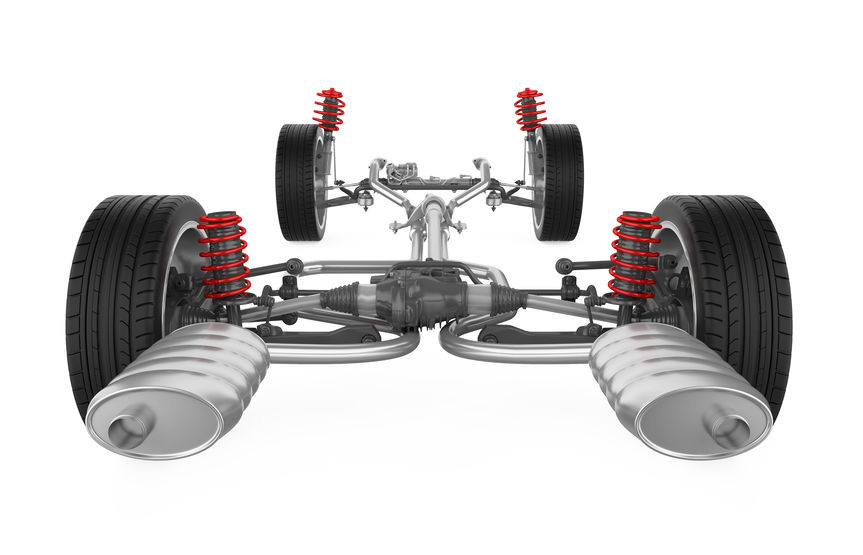 Rice Tire Automotive suspension System diagram