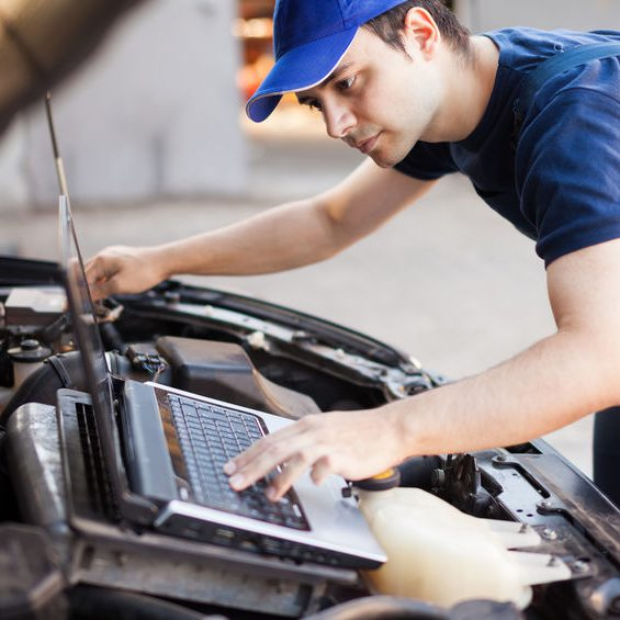 Rice Tire Technician Engine Diagnostics