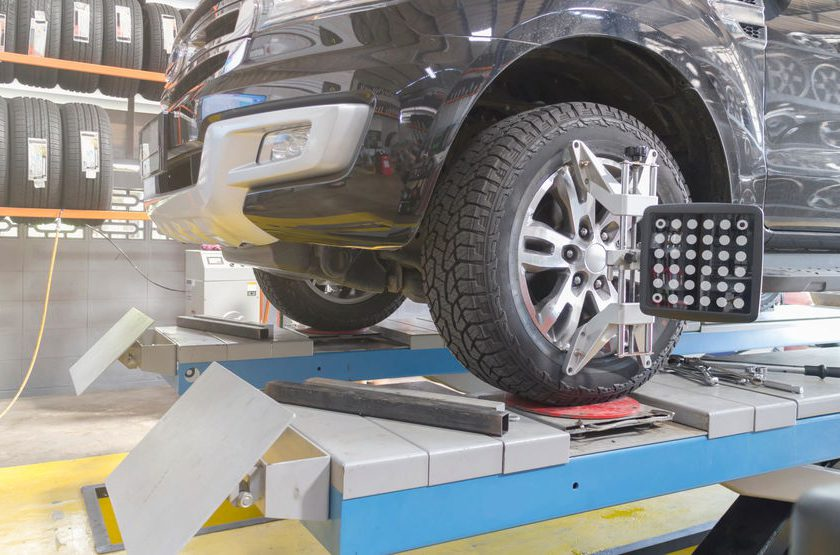 Rice Tire Wheel Alignment