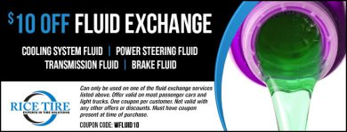 Fluid Exchange Coupon