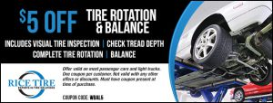 Tire Rotation & Balance Coupon